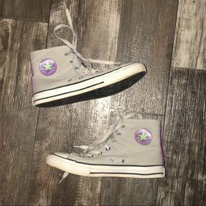 Converse High-tops (men size 4 women's 6)